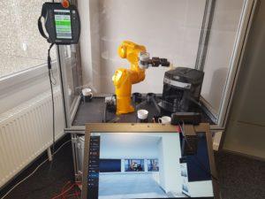 Roboterzelle von GLAESS