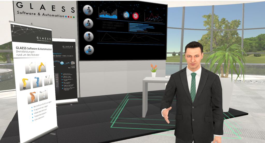 Vor der Konkurrenz: 3D und Avatare